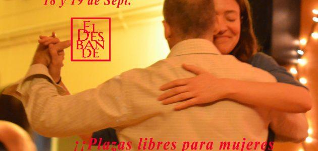 últimas plazas intensivo tango